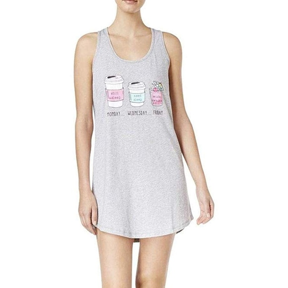 9b495ba9134a Jenni Intimates & Sleepwear | 425 Fer Moore Coffee Sleep Tank New ...